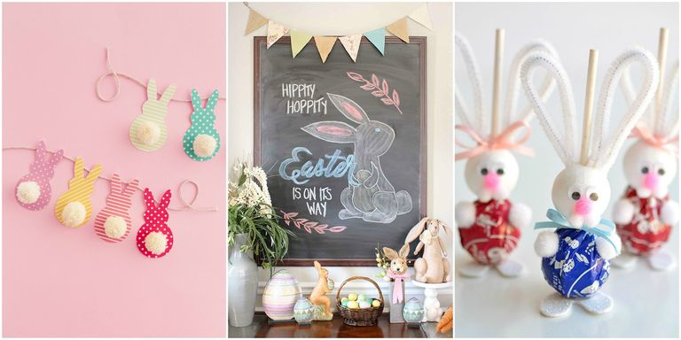 22 Diy Easter Decorations To Make Homemade Easter