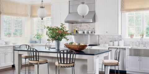 White Kitchen Paints Are Still Red Hot, Yet Getting The Ideal Shade Isnu0027t  Easy. Five Designers Share Their Favorites.