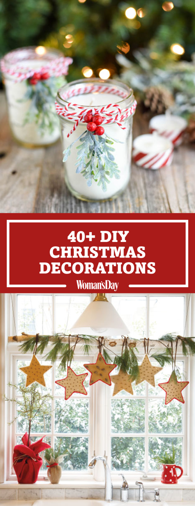 47 Easy DIY Christmas Decorations - Homemade Ideas for ...