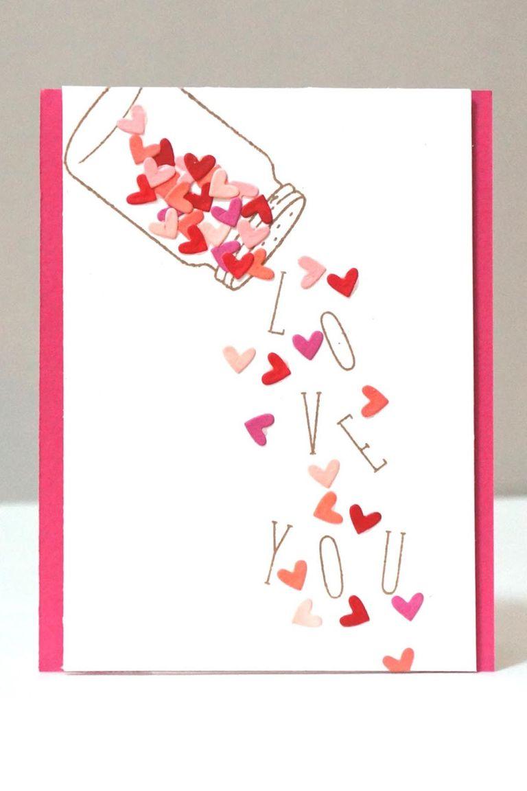 22 Cute DIY Valentine's Day Cards - Homemade Card Ideas ...