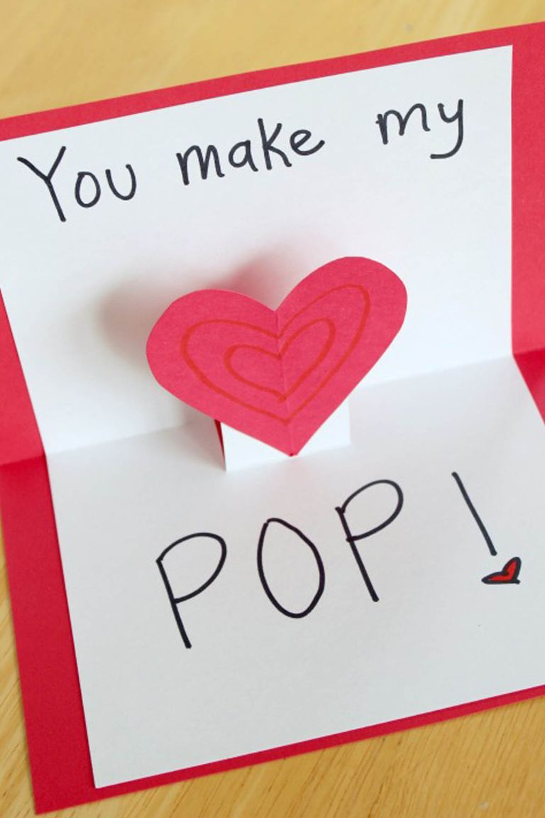 22 Cute Diy Valentines Day Cards - Homemade Card Ideas -8640