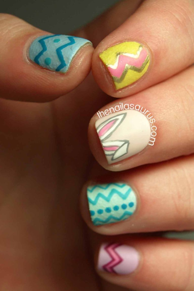 16 Cute Easter Nail Designs