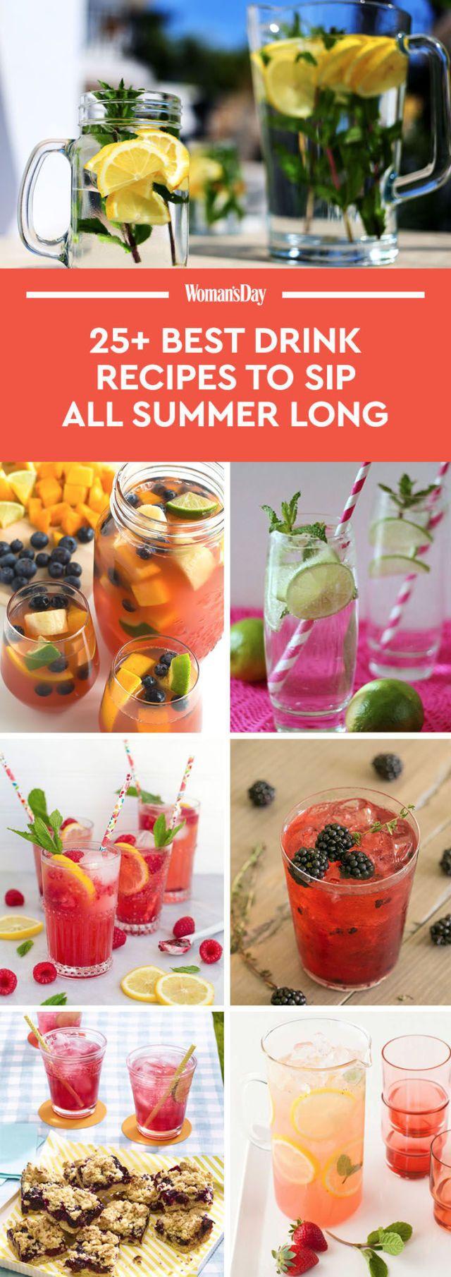33 Best Summer Drink Recipes